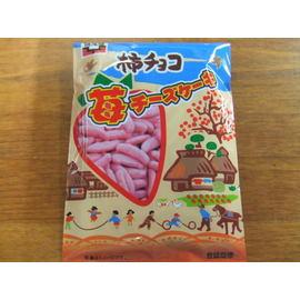 柿チョコ苺チーズケーキ